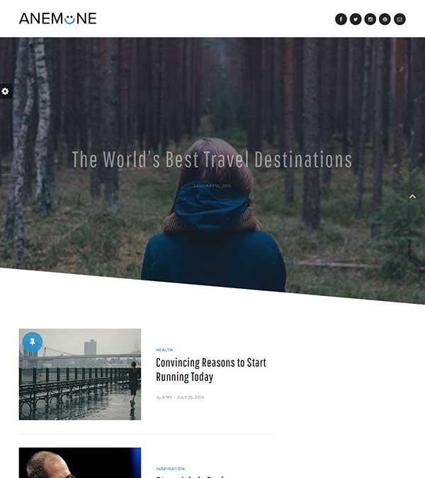 Download Anemone Theme Magazine WordPress