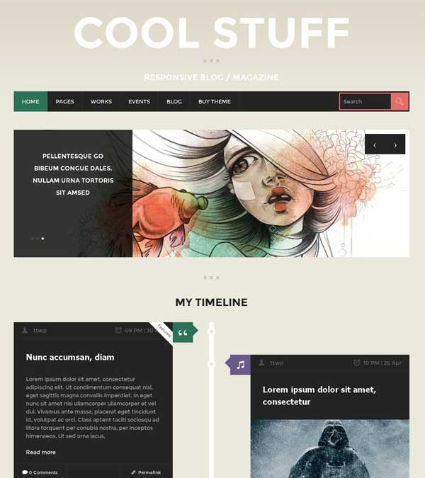 Download CoolStuff Blog Magazine Theme