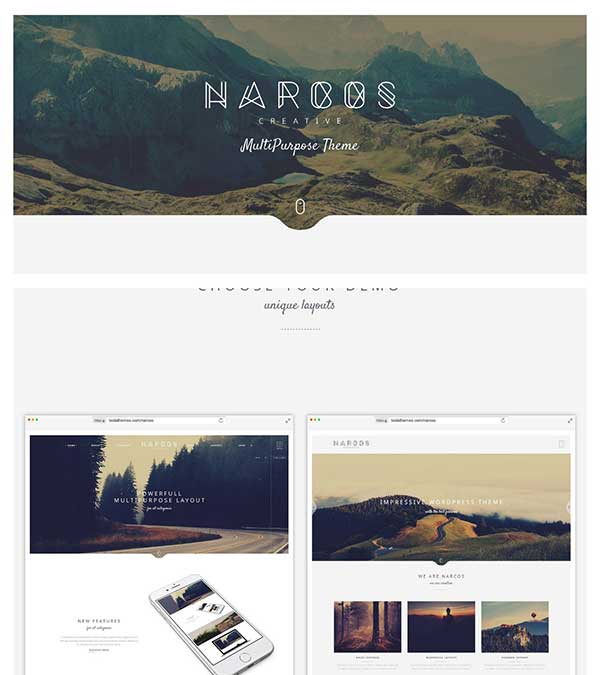 Narcos Multipurpose WordPress Theme