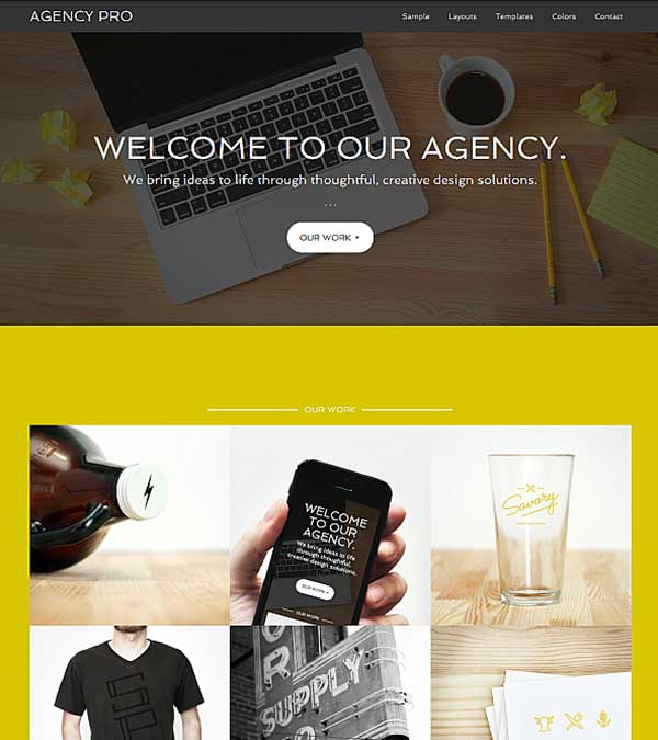 Agency Pro Genesis WordPress Theme