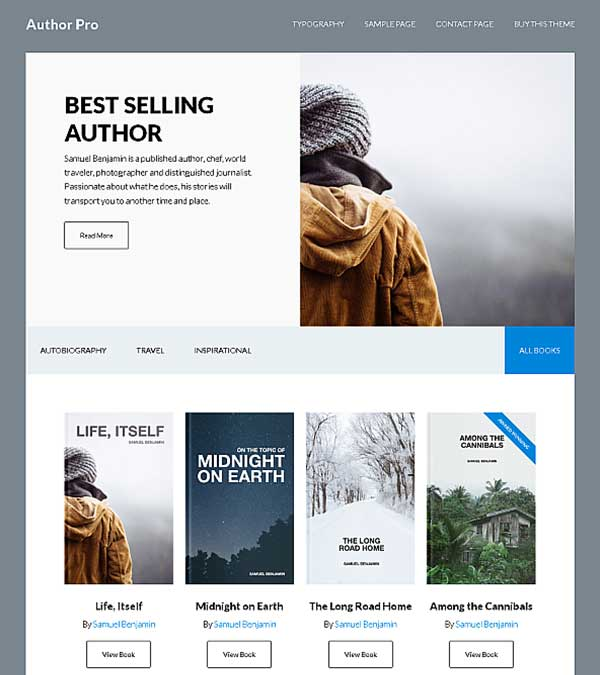 Download Author Pro Genesis WordPress Theme