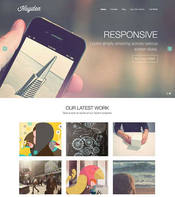 Hayden Agency WordPress Theme