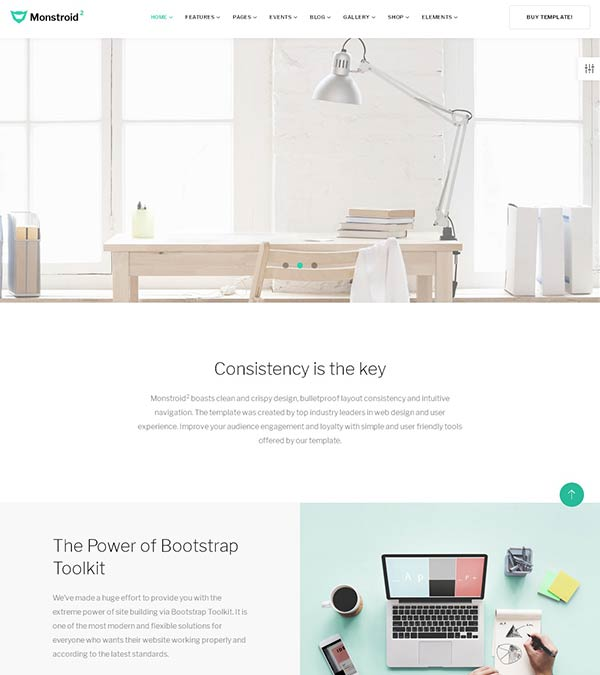 Download Monstroid2 Multipurpose Web Template