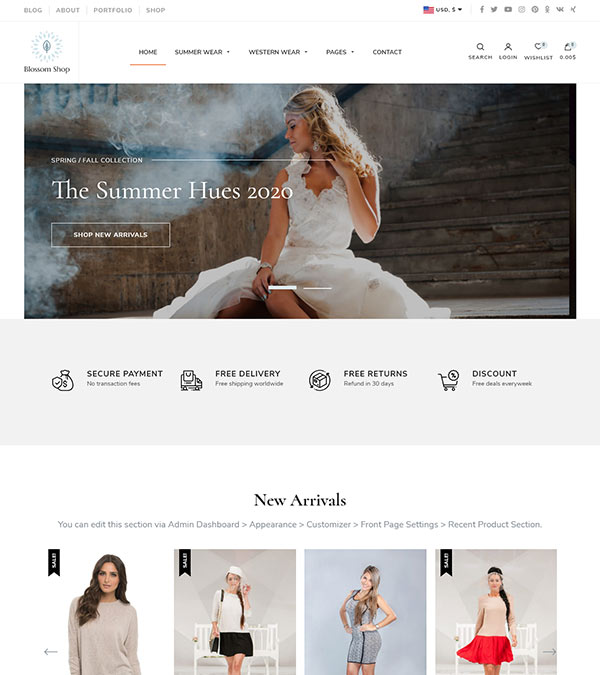 Blossom Shop Pro WordPress Theme