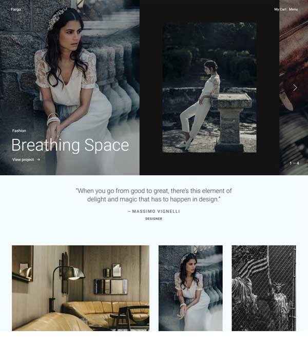 Fargo Photography Portfolio WP Theme
